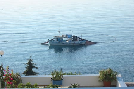 Amazing sea view. Perfect for family vacations - Ermoupoli - Appartamento