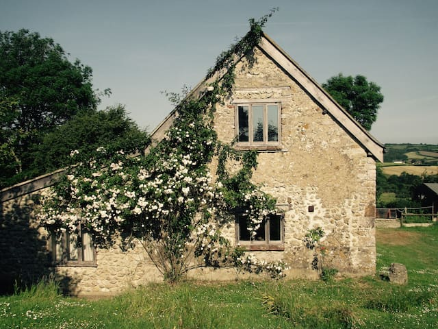 Superbly converted old tithe barn - Wynford Eagle - House