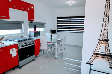1Bedroom Brand New Modern Apt next to Sinaloa Park
