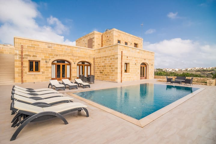 Villa Georgette - Fully detached modern villa in a lush valley