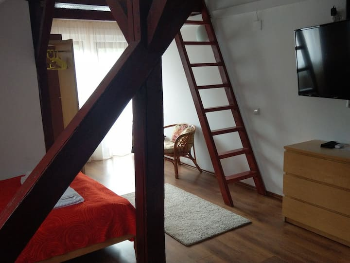 Conacul Bunicilor - Matrimonial Duplex with Balcony