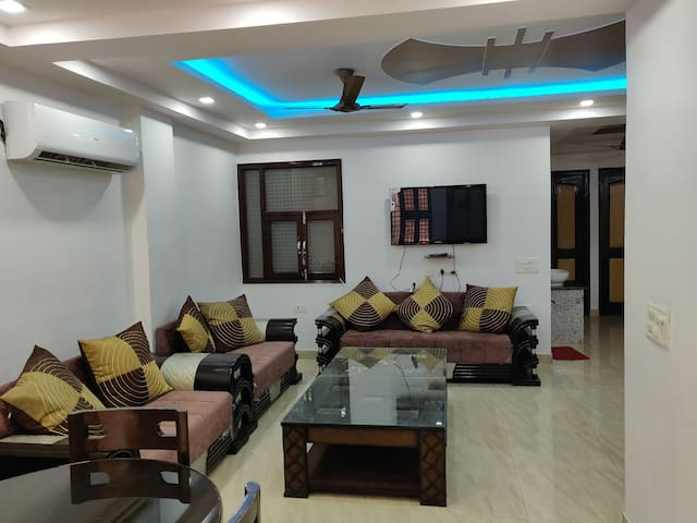 Geetanjali home | Furnished 3BHK apartment