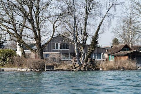Private room at Lake Zug