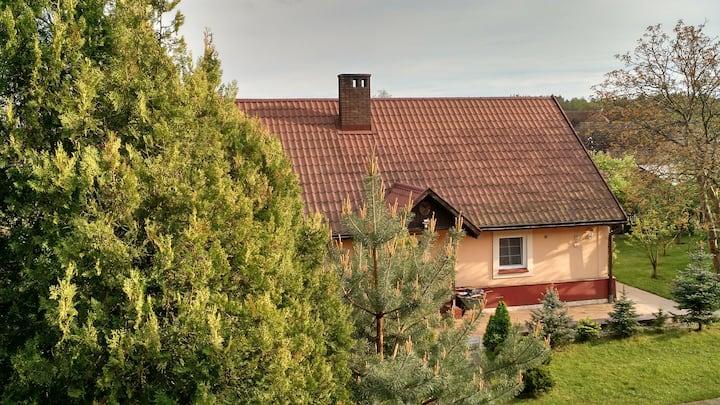 Wypoczynek na wsi Zielomyśl/Cottage in Zielomyśl