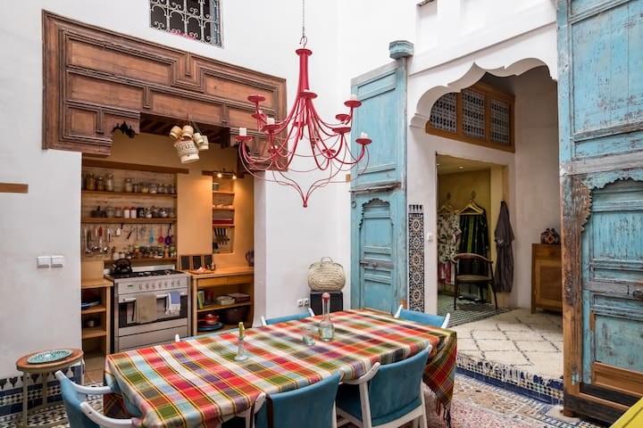 Stylish courtyard home in heart of ancient medina