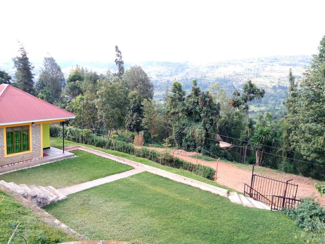 3 beautiful bungalows overlooking the Kabale hills