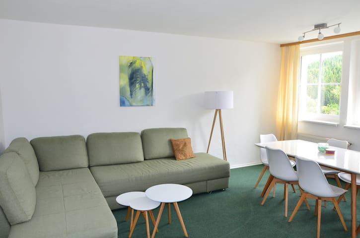 Ferienhaus Lütsche - Wohnung groß EG - Frankenhain - Flat