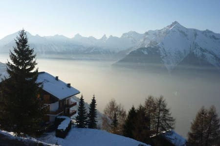 Nice apart 4-6 persons Domain of 4 Valleys & WIFI - Veysonnaz - Daire