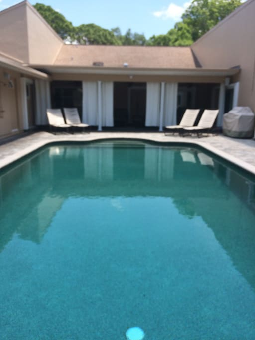 Another angle of the pool area