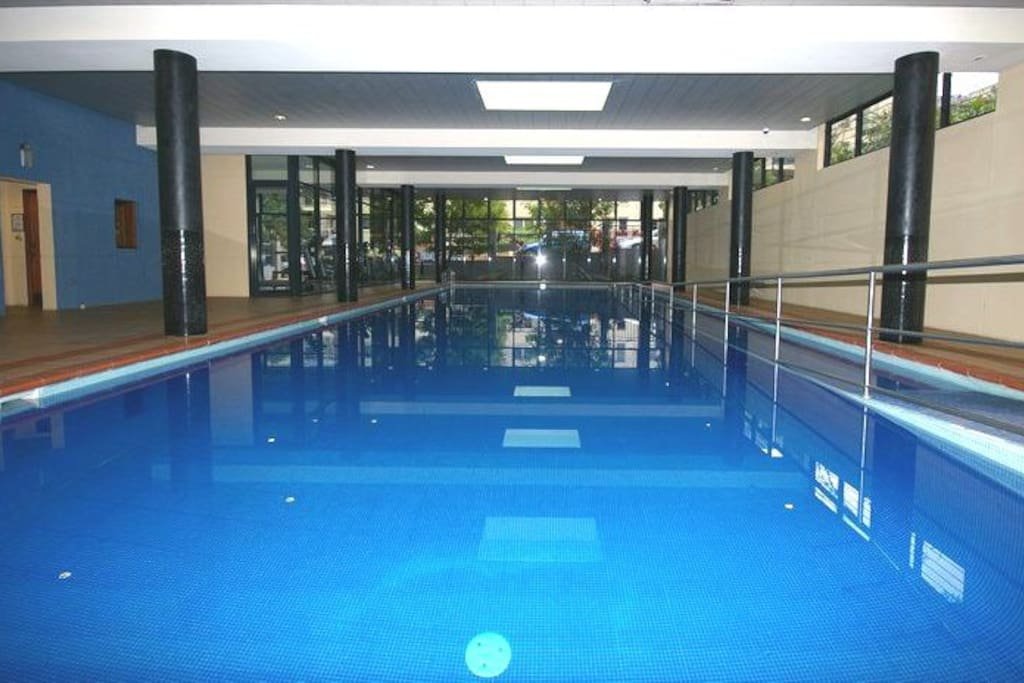 All season indoor pool