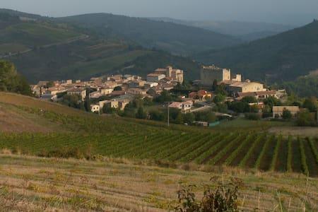 Studio dans village sud de France - Roquetaillade - Loft