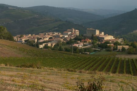 Studio dans village sud de France - Roquetaillade