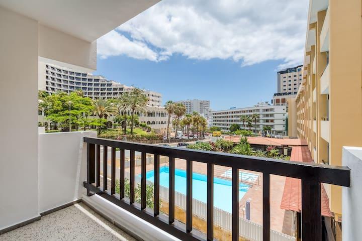 5min beach/Yumbo apartment+wifi