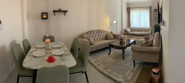 شقة فاخرة بإطلالة رائعة