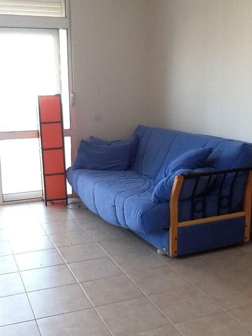 Livingroom, comfy sofa