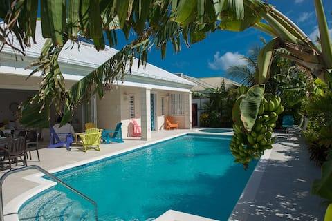 Frangipani, quarantine approved luxury villa .