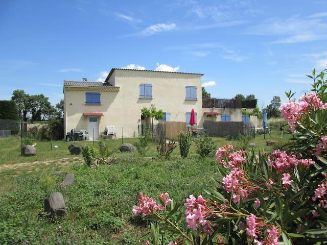 Gîte du Couchant clim réversible 1 à 2 pers - Montélimar - Apartament
