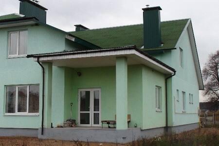 Уютный дом для отдыха под Минском - Karalioŭ Stan