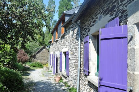 Stang Korvenn B&B Double room - Châteauneuf-du-Faou - Bed & Breakfast