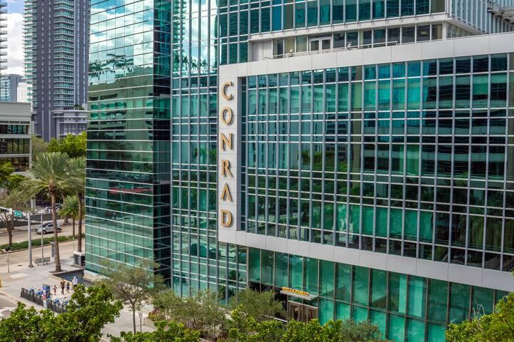 Conrad Miami Brickell 1BD City 5* Luxury Apartment
