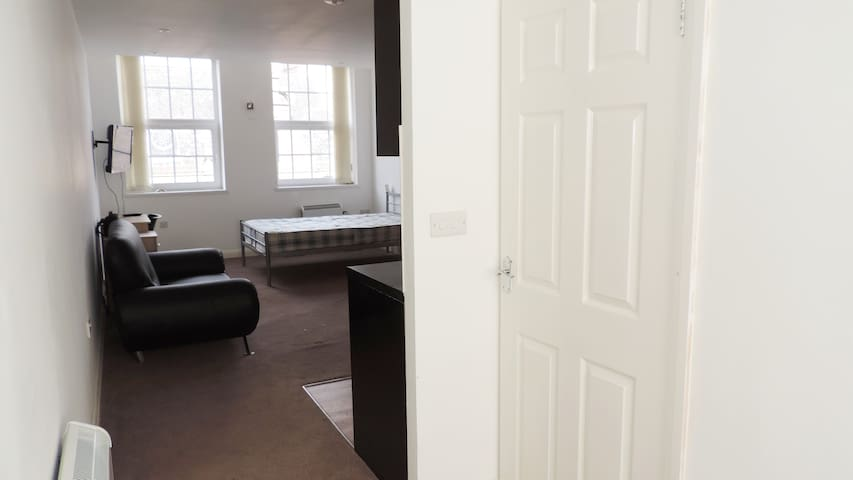 Modern One Bed Flat- City Centre- Leicester