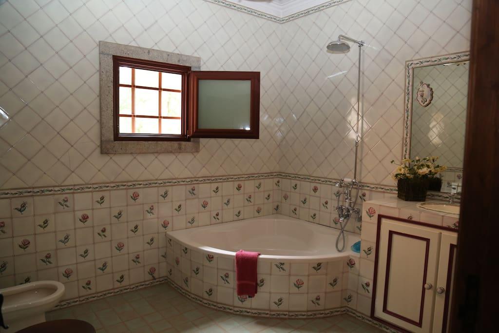 Casa de banho Quarto Verde
