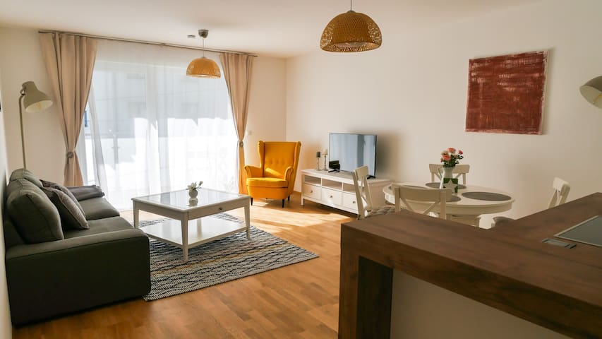 Beautiful new Apartment near Danube River 83,65m²