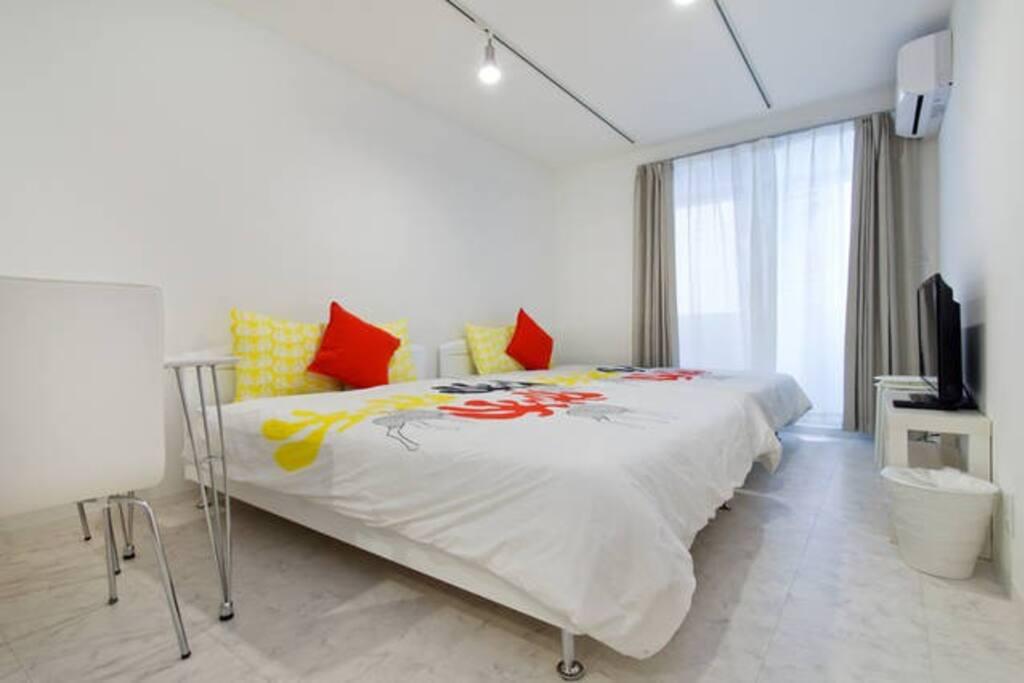 bed room①