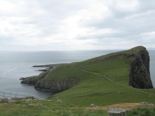 casa vista oceano atlantico - Ullinish - Hus