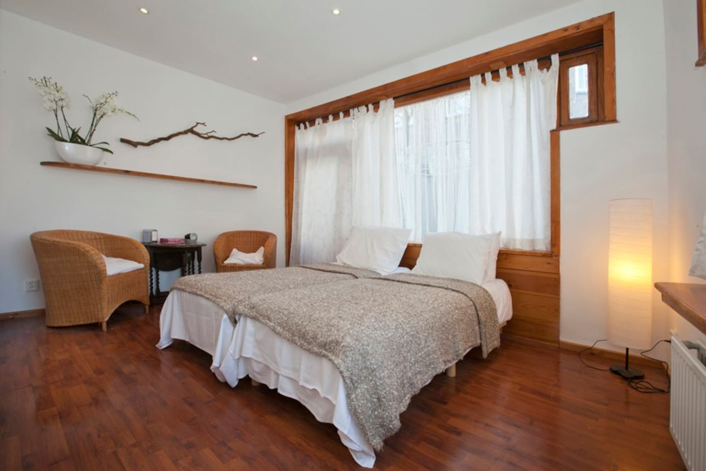 comfortable guest room on the ground floor