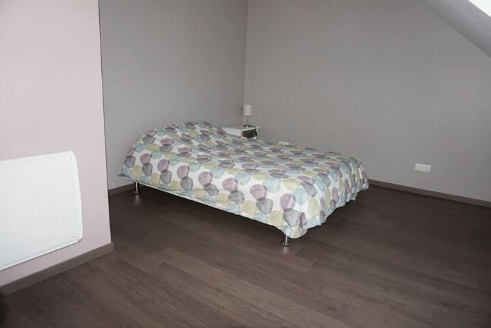 Chambre spacieuse entre Dijon et Dole