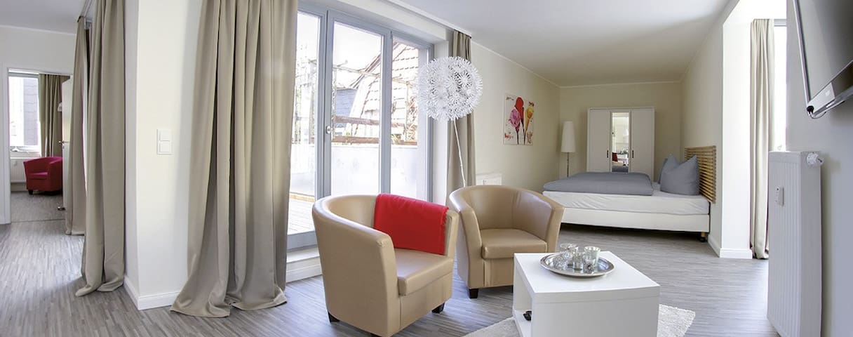 Luxus City Apartment Domblick 4