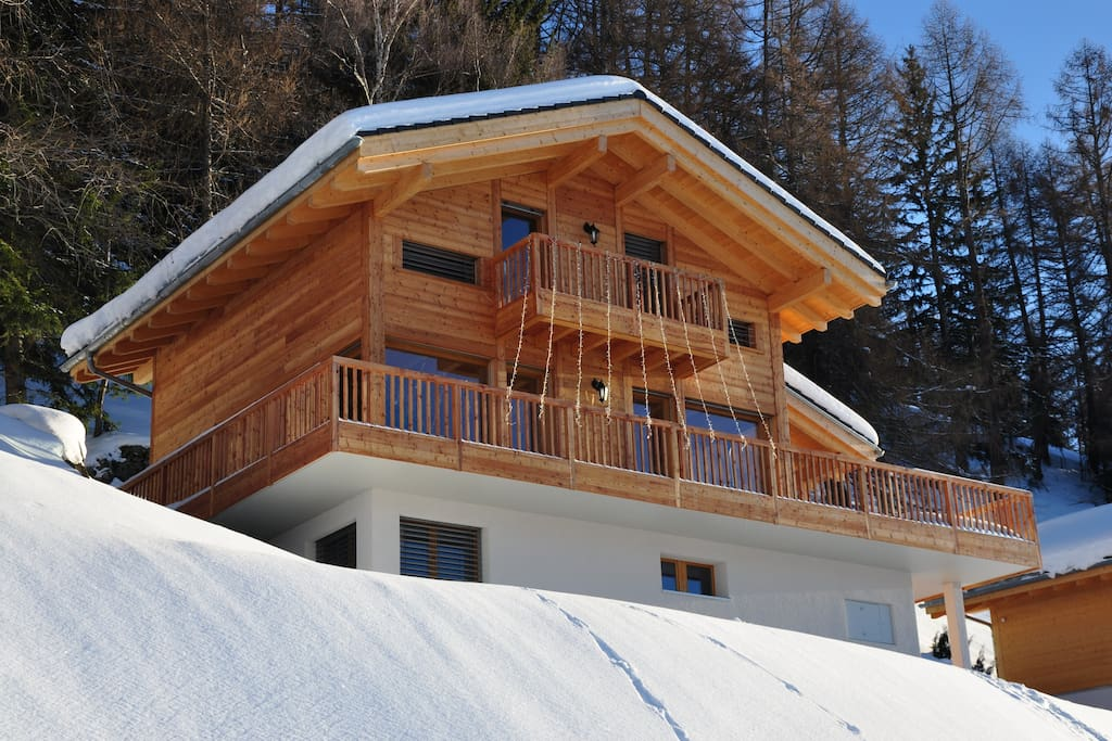 Chalet Auvergne in Winter