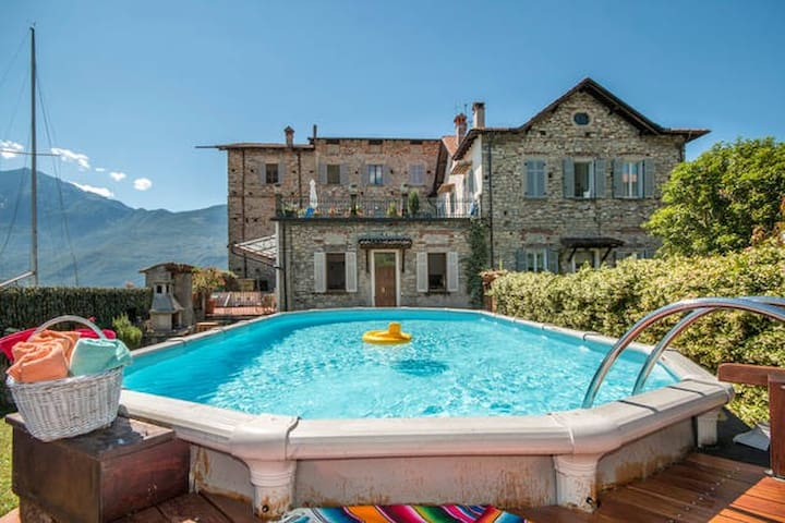 home with pool and terrace