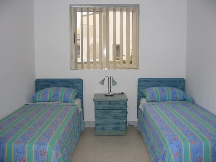 ATTARD: ROOM WITH TWO SINGLE BEDS