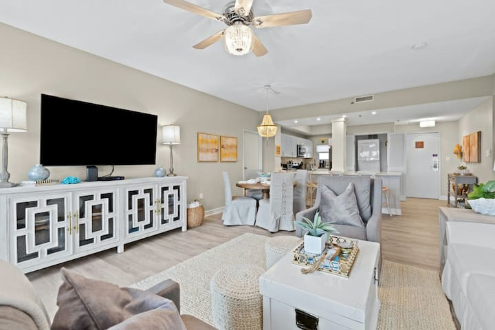 Beautiful Coastal Condo w/ Shared Pool, Free High-Speed WiFi, and Central A/C