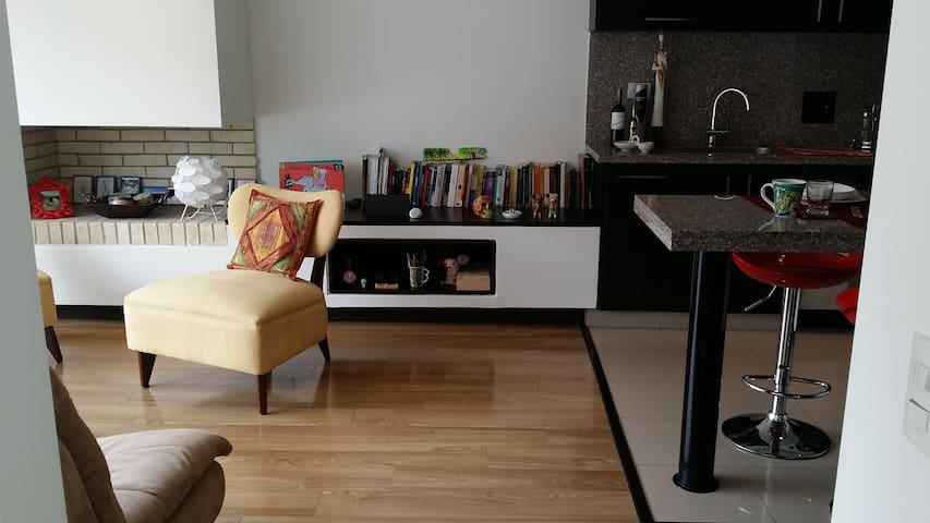 Brigth loft with perfect location! - Bogotá - Loft