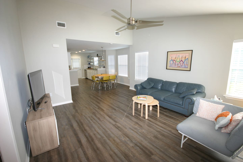 Main living area.  Open concept floorplan.