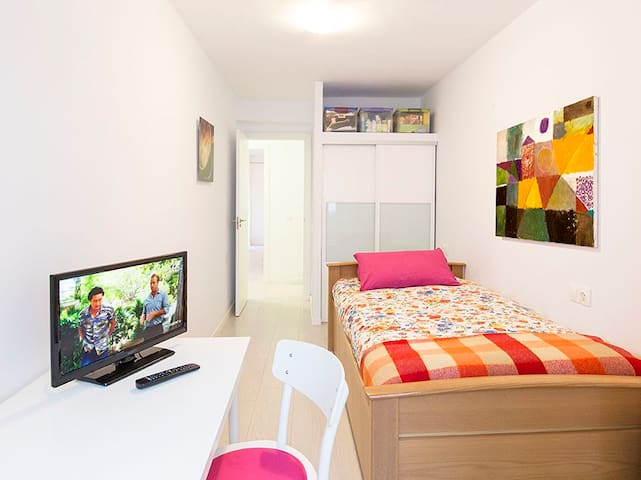 Nice room in Palma near old town - Palma - Apartamento