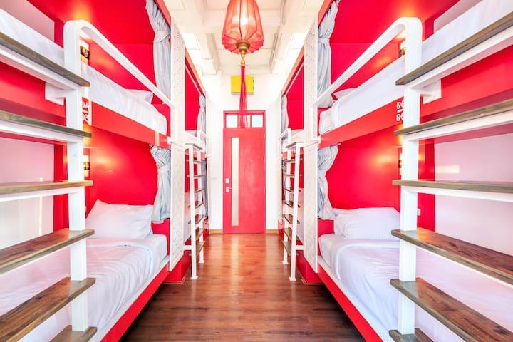 Ama Hostel Bangkok  - 8 Bed Mixed Dormitory