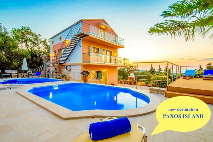 Villa Stephania with private pool