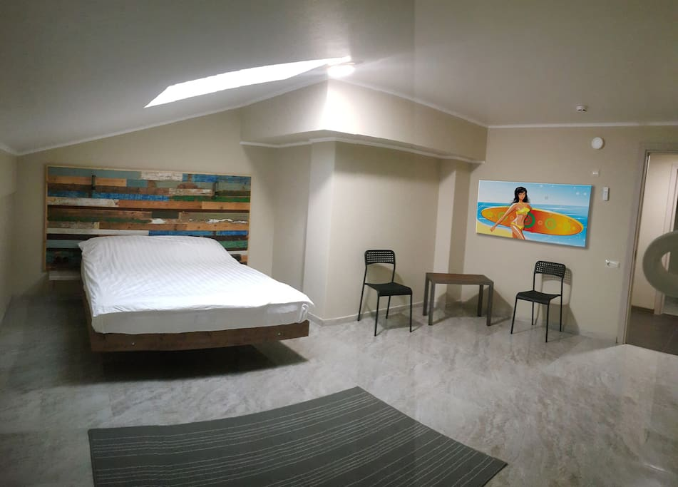 """номер """"апартаменты плюс"""" - просторный номер с двумя спальнями и кухней-гостиной"""