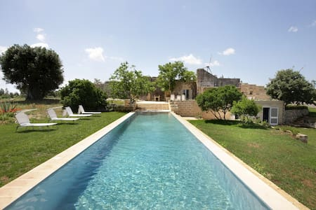 Charming villa with pool in Puglia - 5 bedrooms