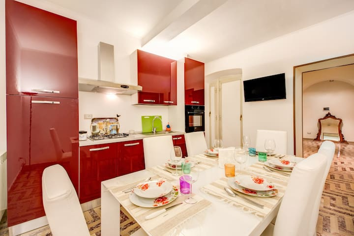 Large 3 double bedroom,8pax,Spanish Steps