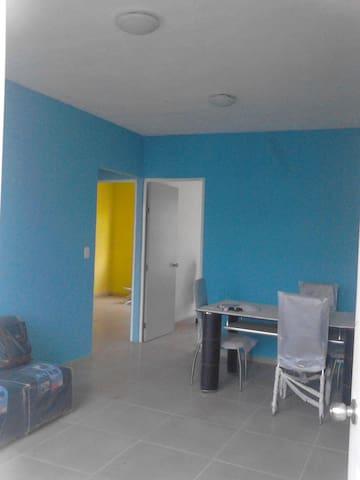 Departamento comódo,cuarto piso en Villa el Cielo - Villahermosa - Lägenhet