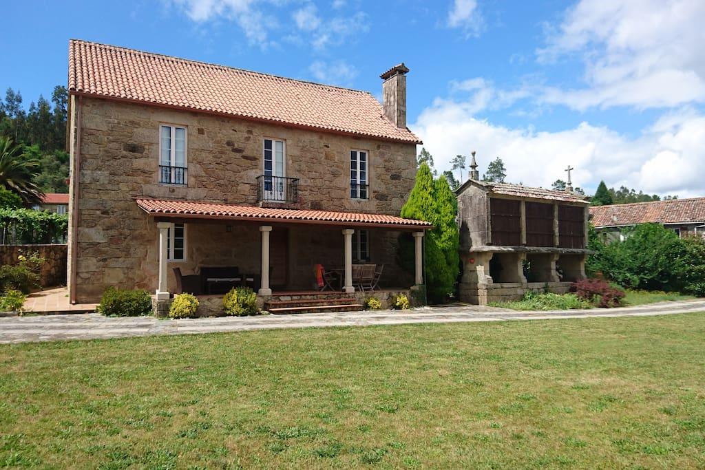 Casa rustica cerca de santiago compostela galicia casas rurales en alquiler en santiago de - Alquiler casa rural galicia ...