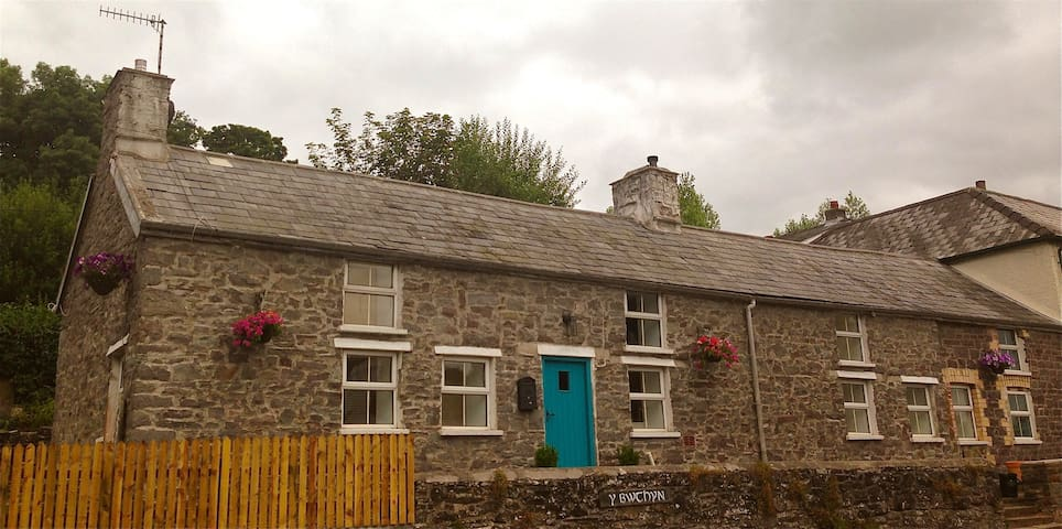 Charming cottage in Brecon Beacons - Defynnog - House