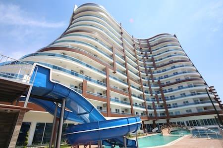 Lumos Residence квартира 1+1 62м с видом на море - Mahmutlar Belediyesi
