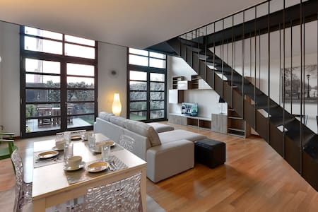 Beautiful Loft+garden+parking - Mailand - Loft