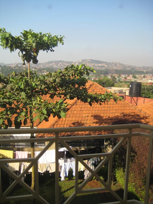 Set in the hills of Kampala with a great backyard for relaxing.
